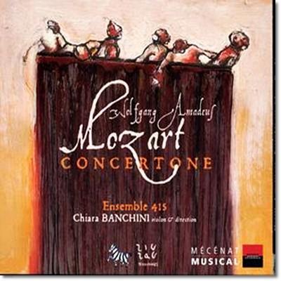 Ensemble 415 모차르트: 협주곡 (Mozart: Serenata Notturna KV 239, Kassation KV 63, Concertone KV 190)