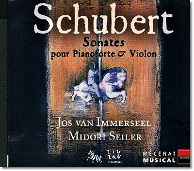 Midori Seiler /  Jos van Immerseel 슈베르트: 바이올린 소나타 D385, D384, D408, D574 (Schbert: Sonatas for pianoforte and violin)