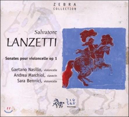 란제티 : 첼로와 바소 콘티누오를 위한 소나타 OP.1 NOS.7, 12