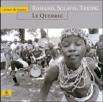 Henri Texier / Aldo Romano / Louis Sclavis (앙리 텍시에, 알도 로마노, 루이 스클라비스) - Carnet De Routes with Le Querre Photo