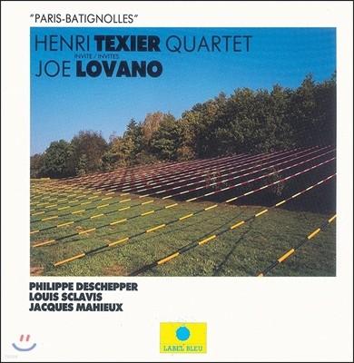 Henri Texier Quartet & Joe Lovano (앙리 텍시에 쿼텟, 조 로바노) - Paris Batignolles (파리 바티뇰)