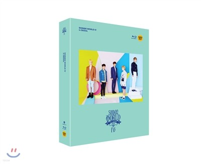 샤이니 (SHINee) - SHINee World IV Blu-ray