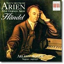 Handel : 9 Deutsche Arien