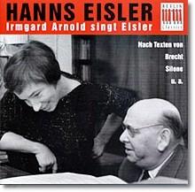 Eisler : Irmgard Arnold Sings Eisler