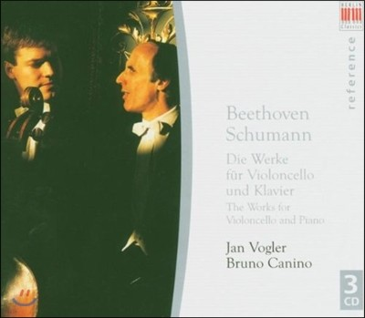 Jan Vogler / Bruno Canino 베토벤 / 슈만: 첼로 소나타 (Beethoven / Schumann: Cello Sonatas)