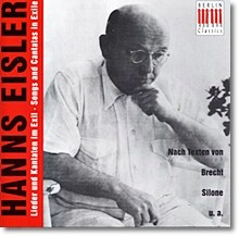 Hanns Eisler : : Songs And Cantats In Exile