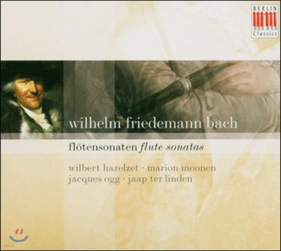 Wilbert Hazelzet 빌헬름 프리데만 바흐: 플루트 소나타 (Wilhelm Friedemann Bach: Flute Sonatas)