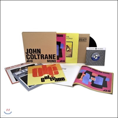 John Coltrane  (존 콜트레인) - The Atlantic Years In Mono (애틀랜틱 모노 레코딩) [7LP]