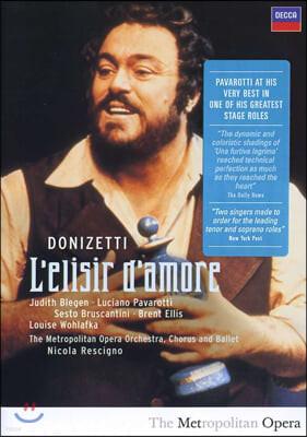 Luciano Pavarotti 도니제티: 사랑의 묘약 (Donizetti: L'elisir d'amore)