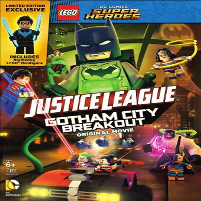 LEGO DC Super Heroes: Justice League: Gotham City Breakout (레고 DC 슈퍼 히어로즈 : 저스티스 리그)(지역코드1)(한글무자막)(DVD)