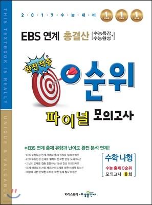 EBS 연계 총결산 0순위 파이널 모의고사 수학 나형 (2016년)