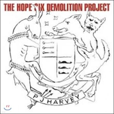 P.J Harvey (P.J 하비) - The Hope Six Demolition Project [LP]