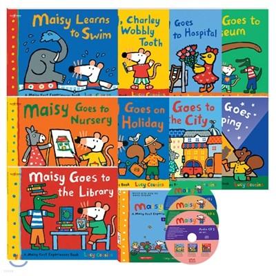 [세이펜] 메이지 영어그림책 9종 세트A : A Maisy First Experiences (Book + CD)