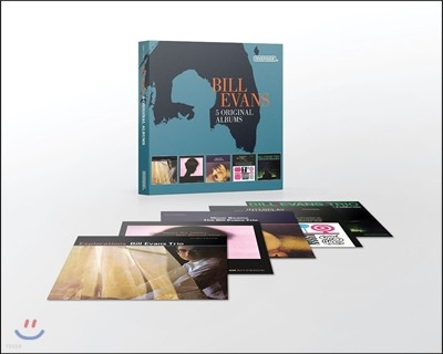 Bill Evans (빌 에반스) - 5 Original Albums with Full Original Artwork