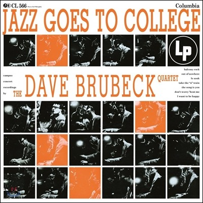 The Dave Brubeck Quartet (데이브 브루벡 쿼텟) - Jazz Goes To College [LP]
