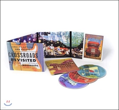 Eric Clapton & Guests (에릭 클랩튼) - Crossroads Revisited: Selections From The Crossroads Guitar Festivals (크로스로드 기타 페스티벌 셀렉션)