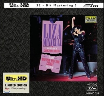 Liza Minnelli (라이자 미넬리) - Highlights From The Carnege Hall Concerts (카네기홀 콘서트 하이라이트) [Ultra HDCD Limited Edition]