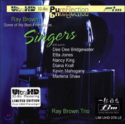 Ray Brown Trio (레이 브라운 트리오) - Some of My Best Friends Are… Singers [Ultra HDCD Limited Edition]
