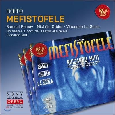 Riccardo Muti / Samuel Ramey 보이토: 메피스토펠레 - 사무엘 래미, 미쉘 크라이더, 리카르도 무티 (Boito: Mefistofele)