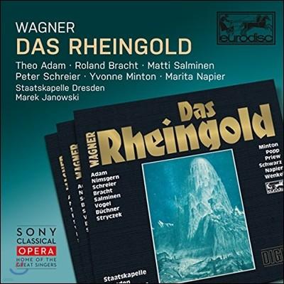 Marek Janowski / Theo Adam / Roland Bracht 바그너: 라인의 황금 - 테오 아담, 롤란트 브라흐트, 페터 슈라이어, 마렉 야노프스키 (Wagner: Das Rheingold)