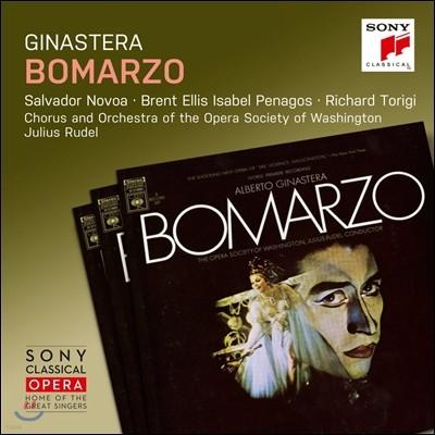 Julius Rudel / Salvador Novoa 히나스테라: 오페라 '보마르조' - 살바도르 노보아, 페나고스, 율리우스 루델 (Alberto Ginastera: Bomarzo)