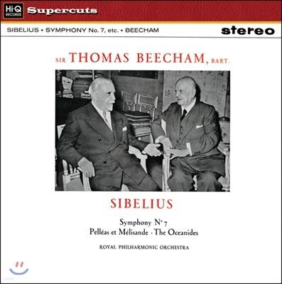 Thomas Beecham 시벨리우스: 교향곡 7번, 펠레아스와 멜리장드, 대양의 딸들 (Sibelius: Symphony No.7, Pelleas Et Melisande, The Oceanides) 토마스 비첨, 로열 필하모닉 오케스트라
