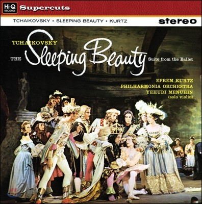 Efrem Kurtz 차이코프스키: 잠자는 숲속의 미녀 (Tchaikovsky: The Sleeping Beauty) 에프렘 쿠르츠, 필하모니아 오케스트라 [LP]
