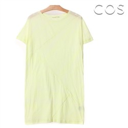 [COS]Zigzag Cotton T-shirt (C53AS001)