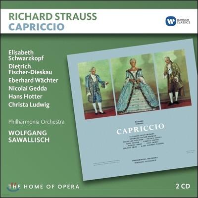 Wolfgang Sawallisch / Elisabeth Schwarzkopf 슈트라우스: 카프리치오 (Richard Strauss: Capriccio) 엘리자베스 슈바르츠코프