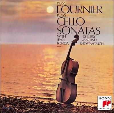 Pierre Fournier 피에르 푸르니에가 연주하는 첼로 소나타집: 드뷔시 / 마르티누 / 쇼스타코비치 (Play Cello Sonatas: Debussy / Martinu / Shostakovich)