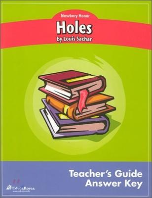 Newbery Study Guide : Holes - Teacher's Guide/ Answer Key