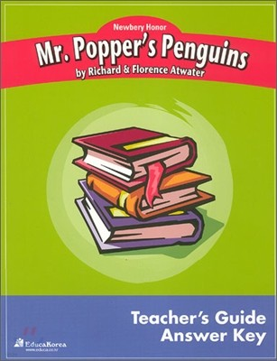 Newbery Study Guide : Mr Poppers Penguins - Teacher's Guide