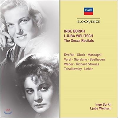 Inge Borkh / Ljuba Welitsch 잉게 보르크와 류바 벨리치 - 데카 리사이틀 (The Decca Recital)