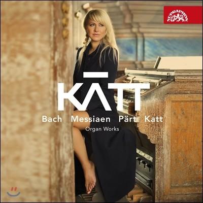 Katt (Katerina Chrobokova) 바흐 / 메시앙 / 패르트 / 카트: 오르간 작품집 - 카테리나 크로보코바 (Bach, Part, Messiaen, Katt: Works for Organ)