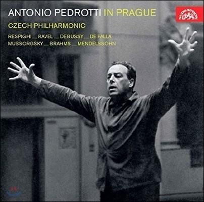 Antonio Pedrotti 프라하의 페드로티 - 레스피기 / 라벨 / 무소르그스키 / 드뷔시 / 브람스 (Pedrotti in Prague - Ravel, Respighi, Mussorgsky, Debussy, Brahms, Mendelssohn) 체코 필하모닉 오케스트라