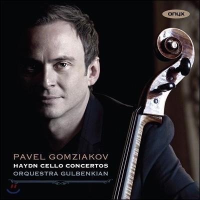 Pavel Gomziakov 하이든: 첼로 협주곡 1번, 2번, 아다지오 칸타빌레 (Haydn: Cello Concertos, Adagio Cantabile) 파벨 곰치아코프