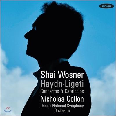Shai Wosner 하이든: 피아노 협주곡 4번, 카프리치오 / 리게티: 피아노 협주곡 (Haydn & Ligeti: Concertos & Capriccios) 샤이 보즈너