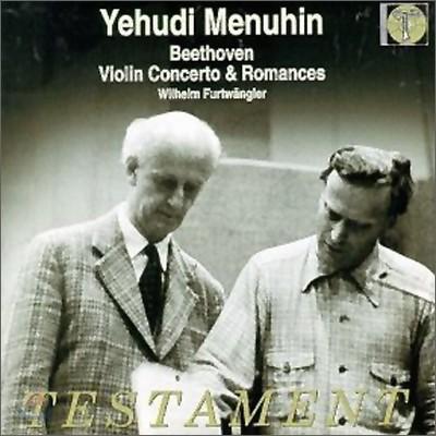 Yehudi Menuhin / Wilhelm Furtwangler 베토벤: 바이올린 협주곡, 로망스 - 메뉴힌 & 푸르트뱅글러
