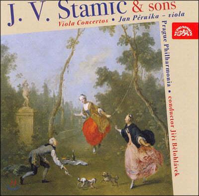 Jan Peruska 슈타미츠 집안의 비올라 협주곡 (J.V Stamic and Sons: Viola Concertos)