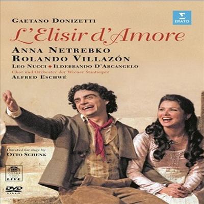 도니제티: 사랑의 묘약 (Donizetti : L`Elisir D`Amore) (한글무자막)(Blu-ray) (2015) - Anna Netrebko