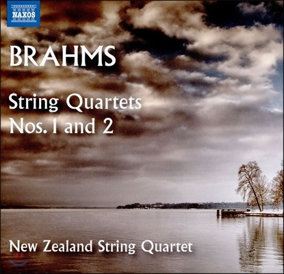 New Zealand String Quartet 브람스: 현악 사중주 1번, 2번 (Brahms: String Quartets Op.51 Nos.1 & 2) 뉴질랜드 스트링 콰르텟
