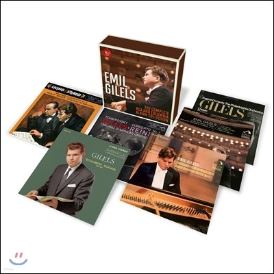 Emil Gilels 에밀 길렐스 - RCA, 콜럼비아 앨범 컬렉션 전집 박스세트 한정반 (The Complete RCA and Columbia Album Collection)
