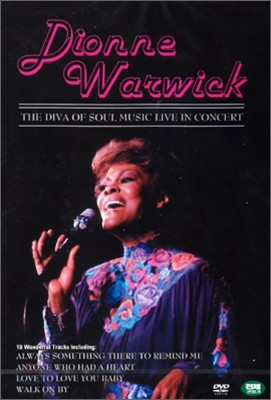 Dionne Warwick - The Diva Of Soul Music Live In Concert