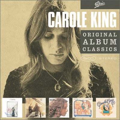 Carole King - Original Album Classics (Writer + Music + Rhymes & Reasons + Fantasy + Wrap Around Joy)