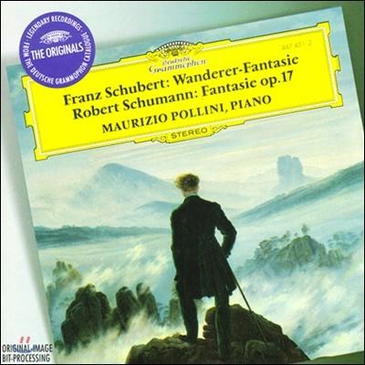 Maurizio Pollini 슈베르트: 방랑자 환상곡 / 슈만: 판타지 - 마우리치오 폴리니