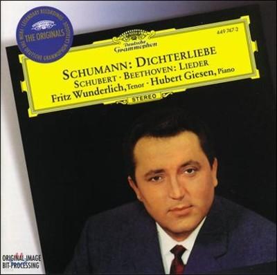 Fritz Wunderlich 슈만 : 시인의 사랑 / 베토벤 / 슈베르트 : 가곡집 (Schumann : Dichterliebe / Beethoven / Schubert : Lieder) 프리츠 분덜리히