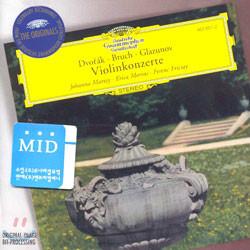 Dvorak / Bruch / Glazunov : Violin Concerto : Johanna MartzyㆍErica MoriniㆍFerenc Fricsay