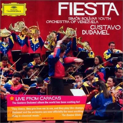 Gustavo Dudamel 피에스타 - 남미 관현악 작품집 (Fiesta) 두다멜