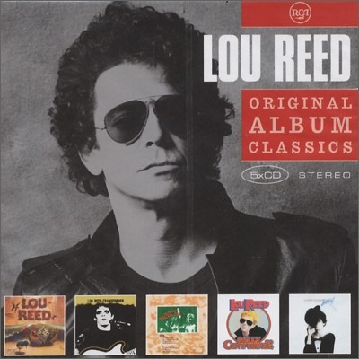 Lou Reed - Original Album Classics (Pickin' up The Pieces + Poco + Crazy Eyes + From The Inside + A Good Feelin' To Know)