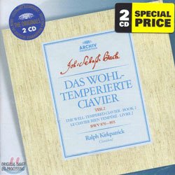 Bach : The Well-Tempered Clavier - Book Ⅱ : Ralph Kirkpatrick